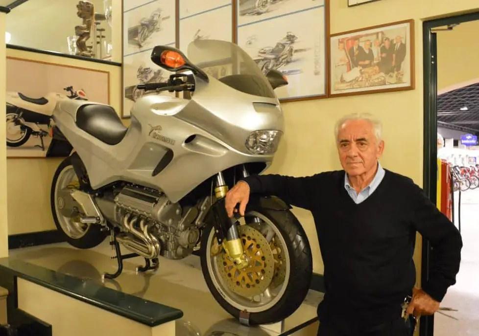 Morbidelli V8 Giancarlo Morbidelli Museo Pesaro foto TvA 2017