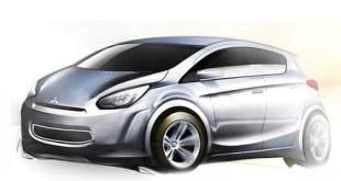 Mitsubishi utilitario 2011 boceto