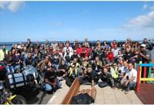 Participantes de la Ruta Canarias 88