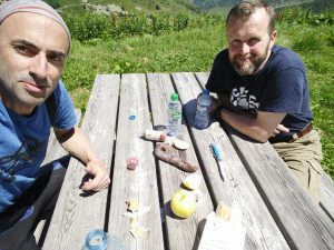 Picknick auf dem Col de la Madeleine
