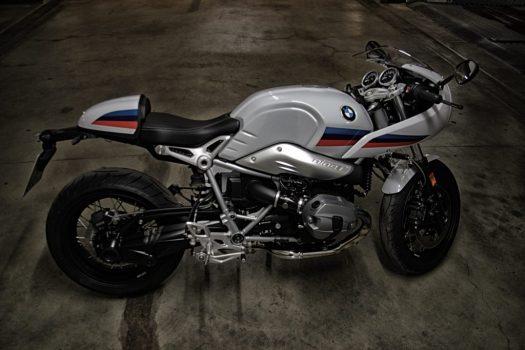 BMW R nineT Seitenansicht.