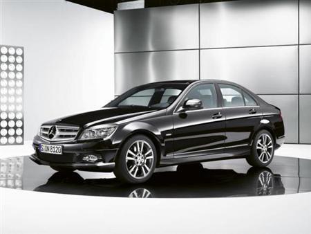 Fotos oficiales de Mercedes Clase C