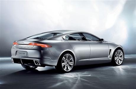 Ahora sí: Jaguar C-XF Concept