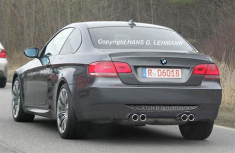 BMW M3 al descubierto, fotos espías