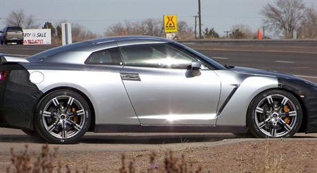 Nissan Skyline GT-R, fotos espías