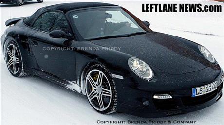 Fotos espía del Porsche 911 Turbo descapotable