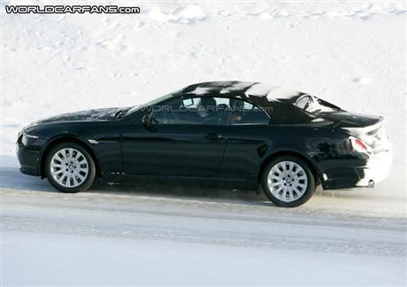 BMW Serie 6, fotos espía del lavado de cara