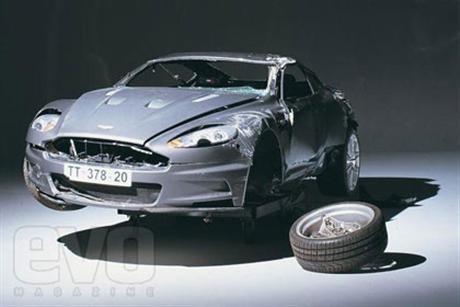 Imágenes del Aston Martin DBS en su final