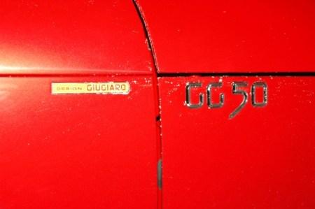Ferrari GG50 en el salón de Ginebra