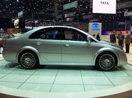 Tata Eleganté Concept, la berlina india