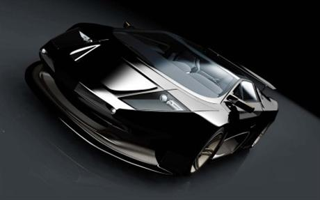 Posible vuelta de Vector al mercado: V8 Biturbo concept