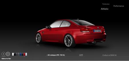 Los colores disponibles del BMW M3