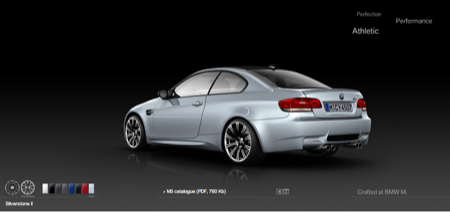 Los colores disponibles del BMW M3