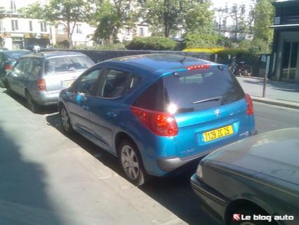 Peugeot 207 SW ¡Cazado!