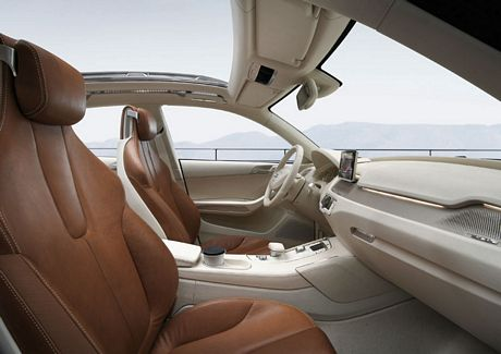 El prototipo Crossover de Audi, Cross Coupé Concept
