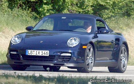Porsche 911 Turbo cabrio, varios ejemplares cazados