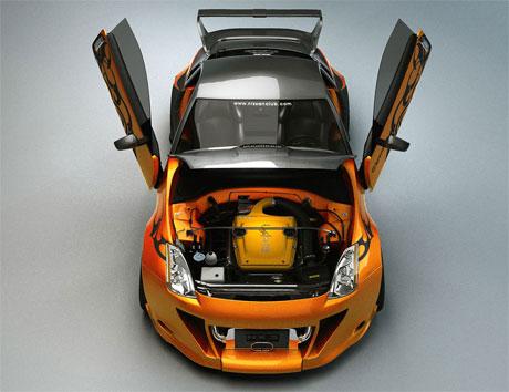 diseñador de automóviles