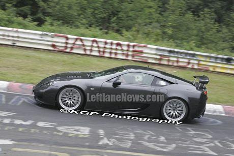 Lexus LF-A en Nurburgring