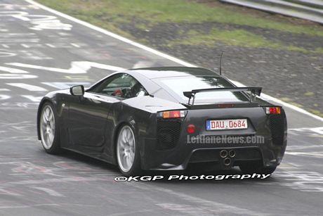 Lexus LF-A en Nürburgring