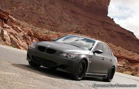 BMW M5 Negro mate, Mad Max edition