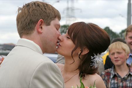 Inédito: 200 Ford Focus reunidos para celeberar una boda