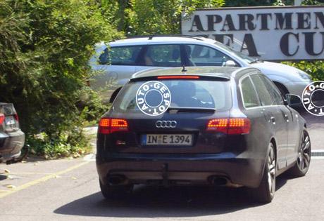 Audi RS5 y RS6 Avant, cazados