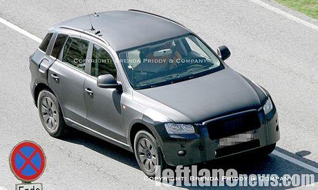 Fotos espías del Audi Q5 al descubierto