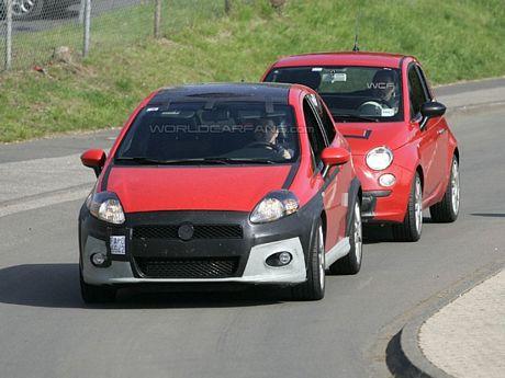 Fiat Grande Punto Abarth y 500 Abarth