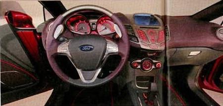 Ford Fiesta Concept: imágenes filtradas