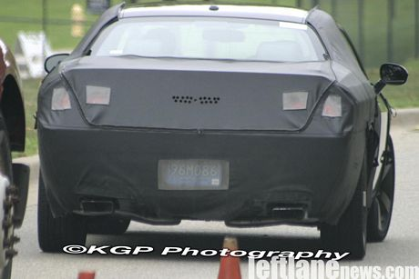 Nuevo Dodge Challenger de producción, cazado