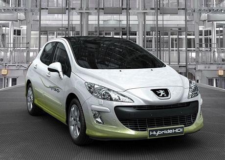 Peugeot 308 Hybrid HDi