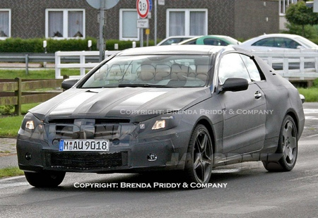 Mercedes CLK 2009, fotos espía