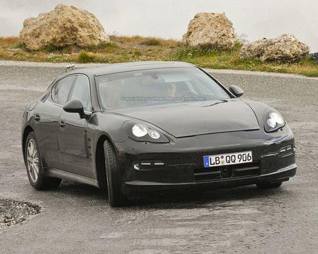 Fotos espías del Porsche Panamera, las más claras hasta la fecha