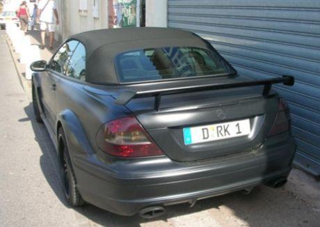 Mercedes CLK DTM AMG Cabrio edición Mad Max
