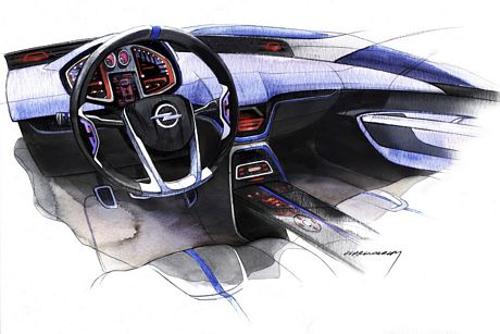 Opel E-Flex concept