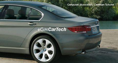 Recreación del BMW Serie 7