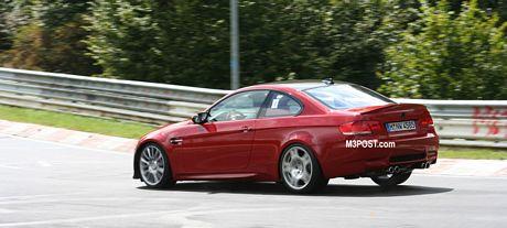 Mula de pruebas del BMW M3 CSL E92