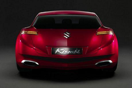 Suzuki Kizashi Concept, fotos oficiales