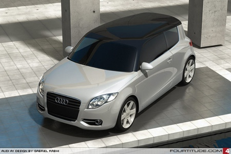 Más recreaciones del Audi A1