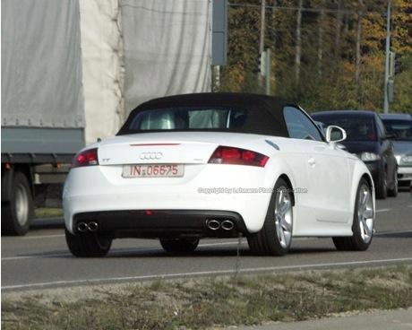 Fotos espías del Audi TT-S