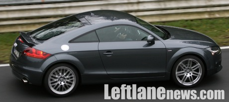Más fotos espías del Audi TT RS