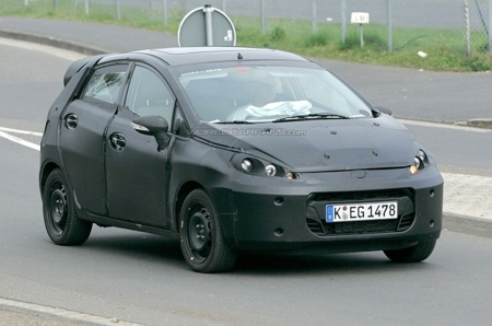 Más fotos espía del Ford Fiesta