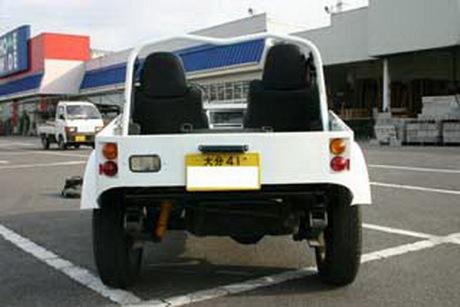 Réplica del Lotus Super Seven utilizando un Suzuki Samurai