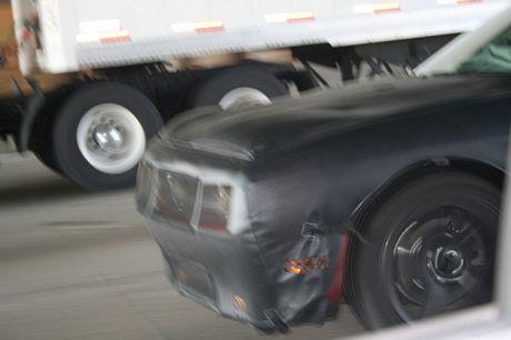 Fotos espías del Dodge Challenger final