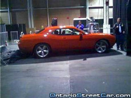 Dodge Challenger de producción, al descubierto