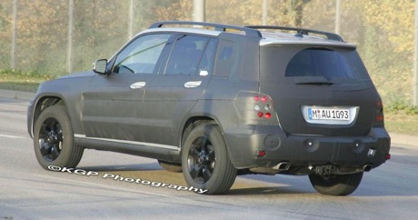 Más fotos espías del Mercedes GLK