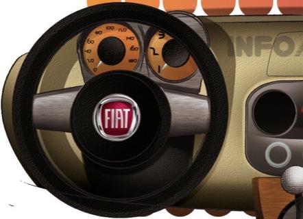 Recreaciones del próximo Fiat Panda
