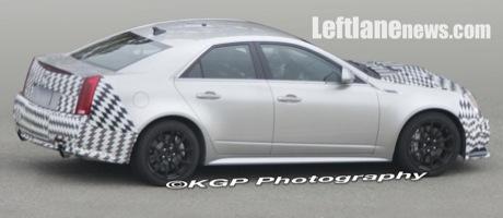 Fotos espías del Cadillac CTS-V