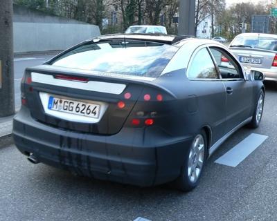 Mercedes Clase C Sport coupé