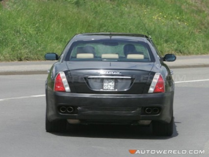 Más fotos espía del Maserati Quattroporte
